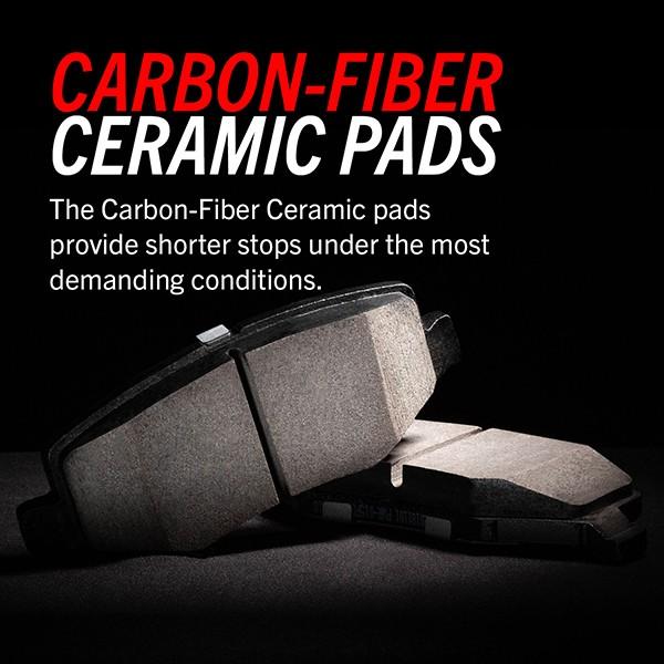 Carbon-Fiber Ceramic Brake Pads