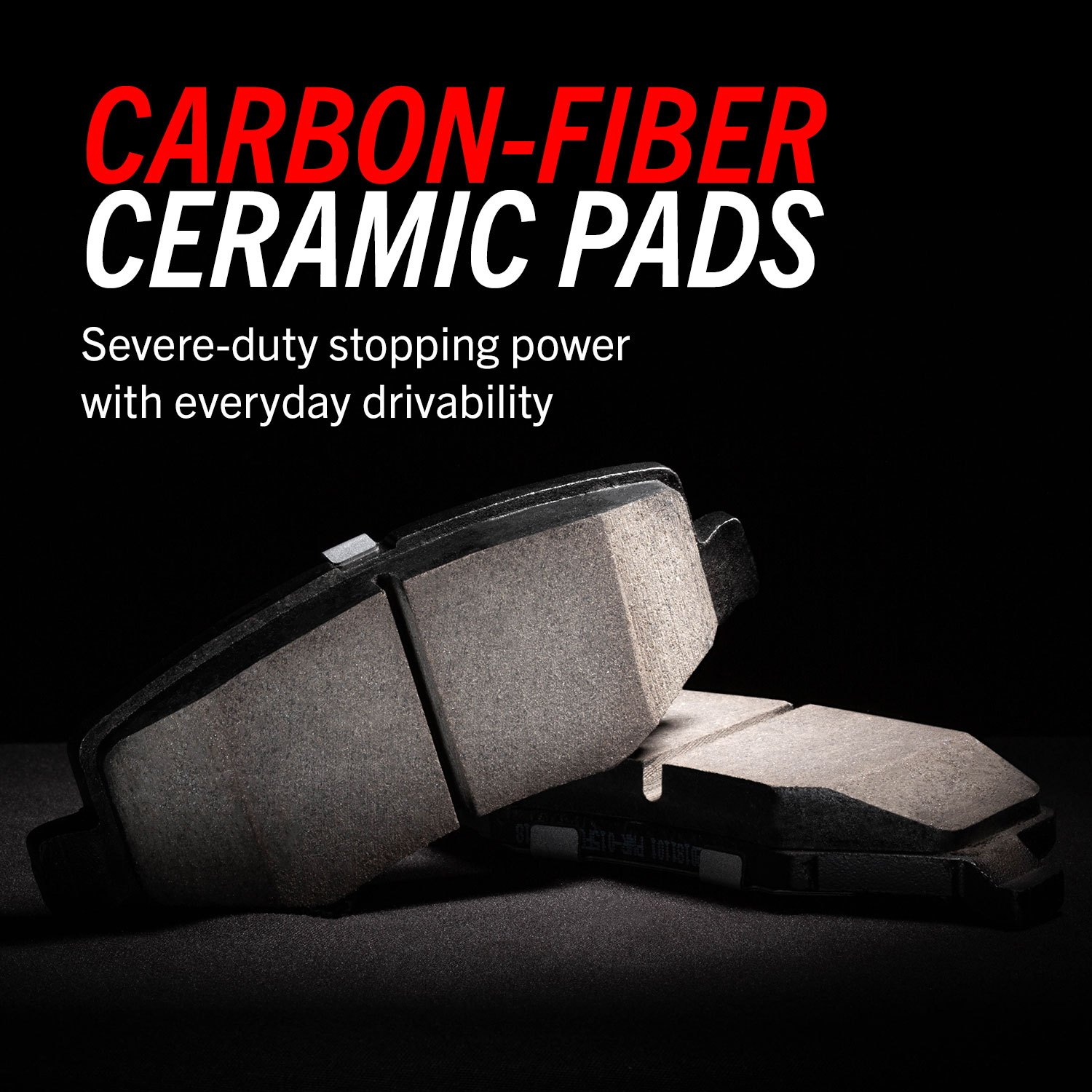 Carbon Fiber Ceramic Pads