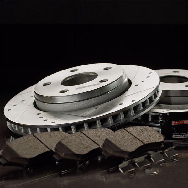 Fits: 2010 10 Dodge Challenger 3.5L RWD SE Models w//SOLID REAR ROTORS Premium Slotted Drilled Rotors + Metallic Pads TA021032 Max Brakes Rear Performance Brake Kit