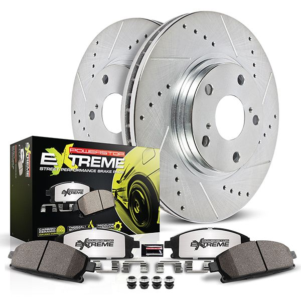 PowerStop Z26 Street Warrior Brake Kit for High-Horsepower Muscle Cars