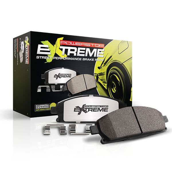 PowerStop Z26 Street Warrior Brake Pads for High-Horsepower Muscle Cars