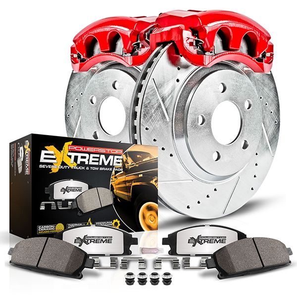 PowerStop Z36 Brake Kit With Calipers- Heavy Duty Truck & Tow