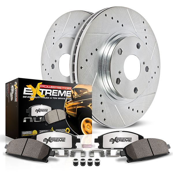 PowerStop Z36 Brake Kit - Heavy Duty Truck & Tow