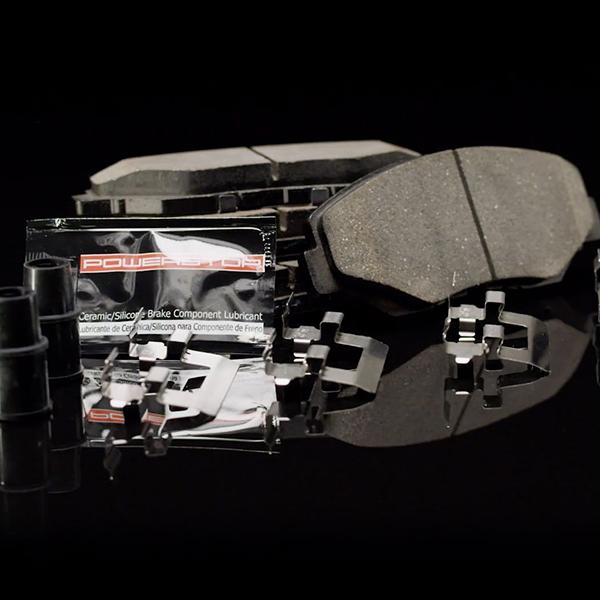 Power Stop Z23-1938 Z23 Daily Driver Rear Carbon Fiber Ceramic Brake Pads
