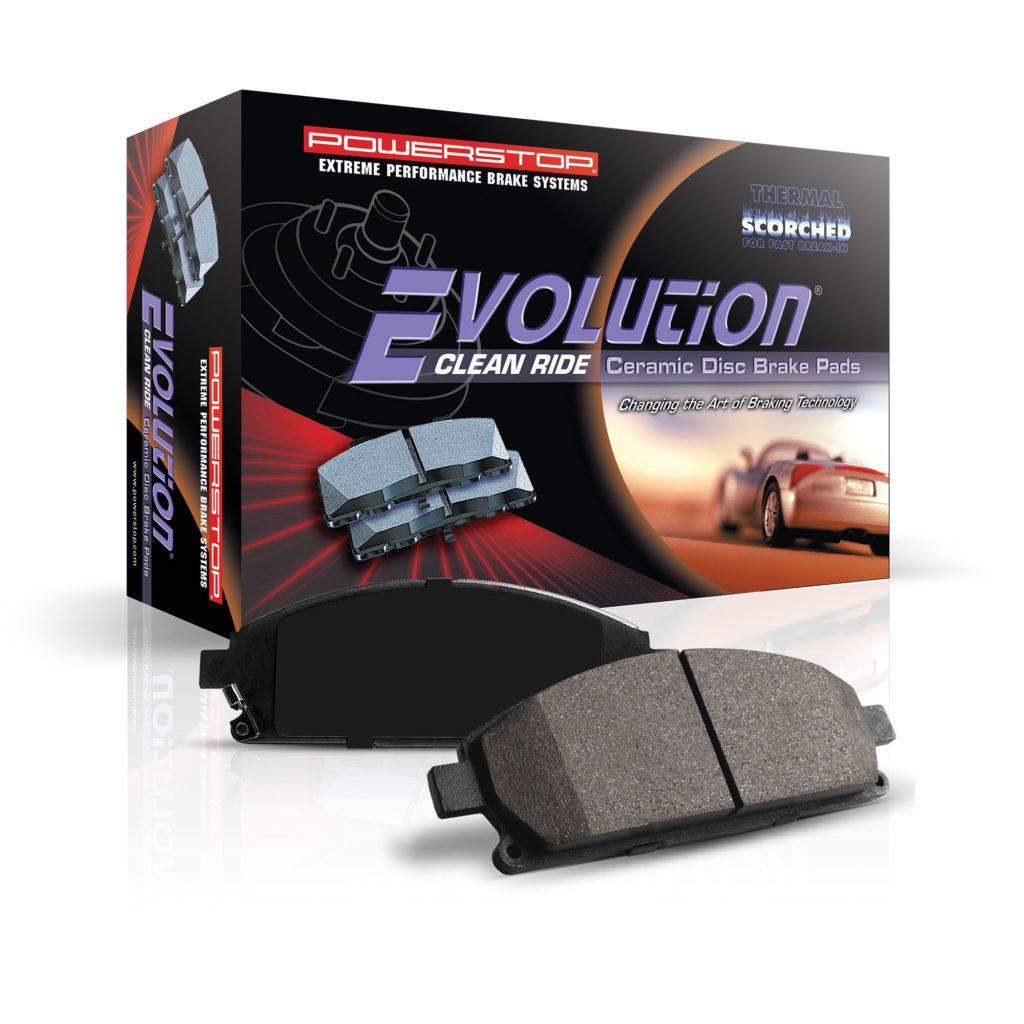 z16 evolution brake pads