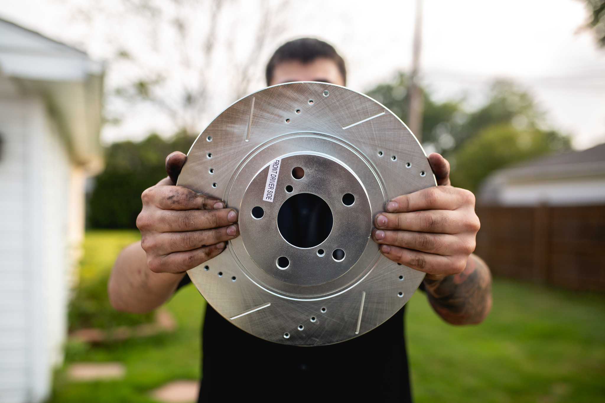 Drilled vs Slotted rotors