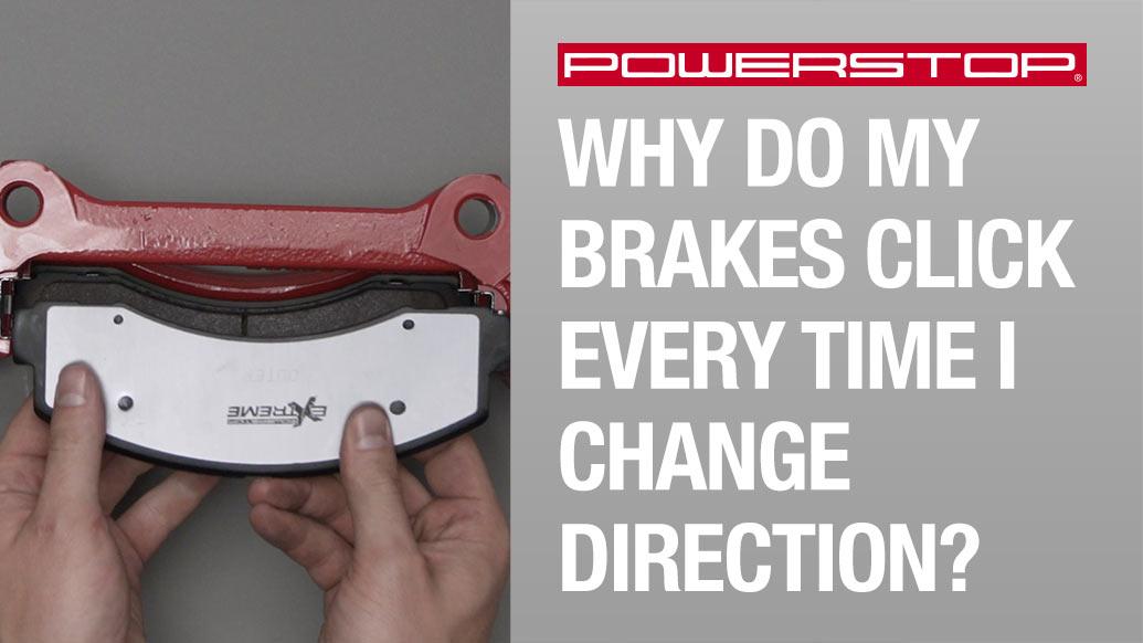 brakes, brake kit, brake pads, brake rotors, rotors, PowerStop, brake noise, brakes click