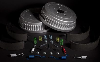 PowerStop Coated Drum and shoe brake kit
