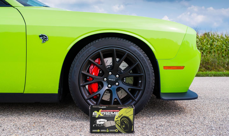 Power Stop Brake Pads Eliminate Excessive Brake Dust On Dodge Hellcat Brake Systems Powerstop Brakes