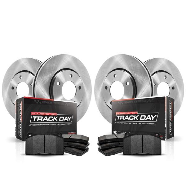 Power Stop TDK4732 Track Day Kit