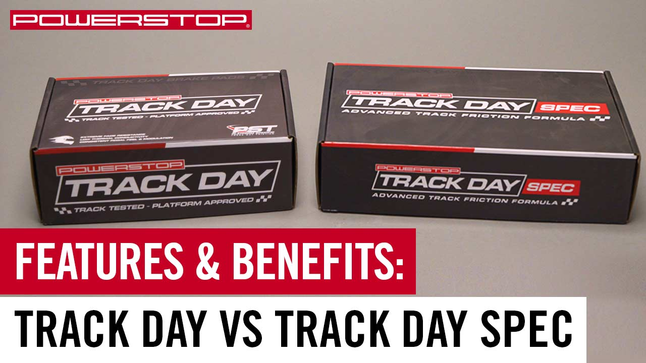 track day vs track day spec brake pads for track