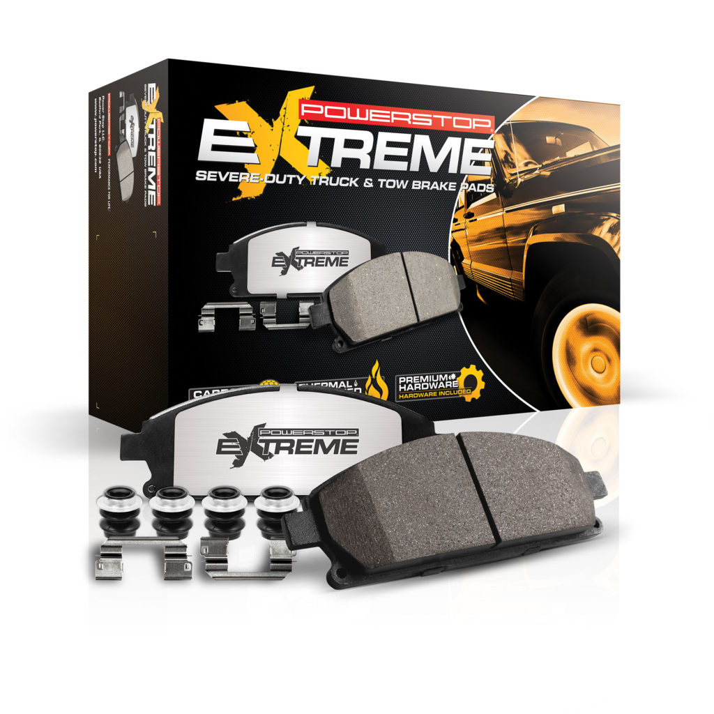 Z36 Extreme Truck & Tow brake pads
