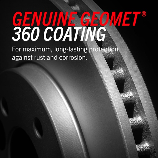 PowerStop Evolution Genuine Geomet Coated Brake Rotors