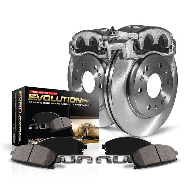 PowerStop Autospecialty Stock Replacement Brake Kit with Calipers