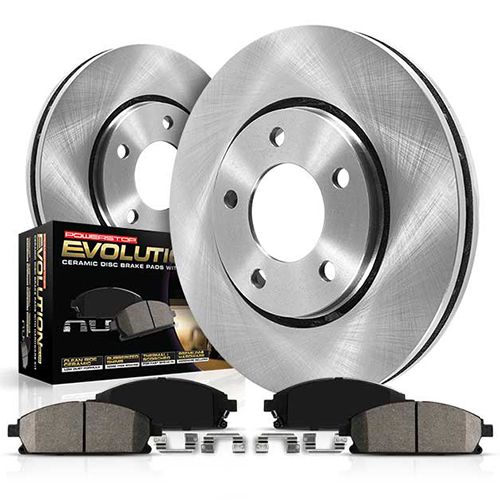Power Stop B969 Autospecailty Stock Replacement Rear Brake Shoes