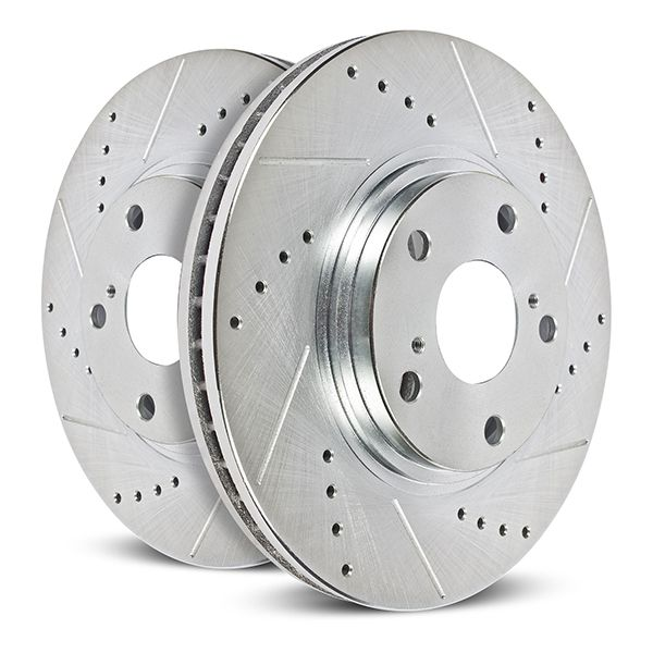 PowerStop Drilled & Slotted Rotors