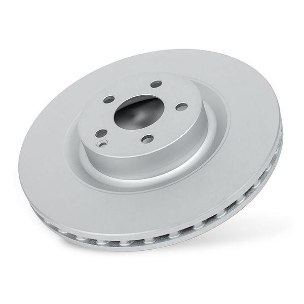 Power Stop CRK8172,Z17 Front Coated Rotor Kit-Coated Brake Rotors Ceramic Brake Pads