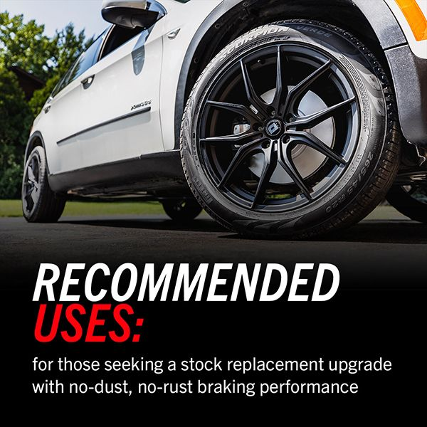 Evolution Brake Kit Upgrade Recommended Uses