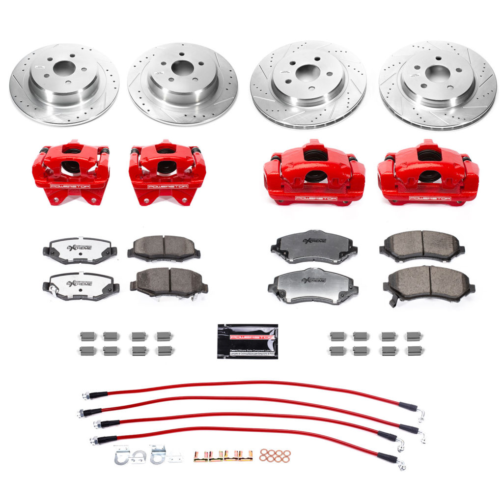 jeep big brake kit bbk jk 003r