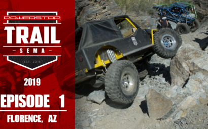 Trail To SEMA 2019 Episode one florence arizona
