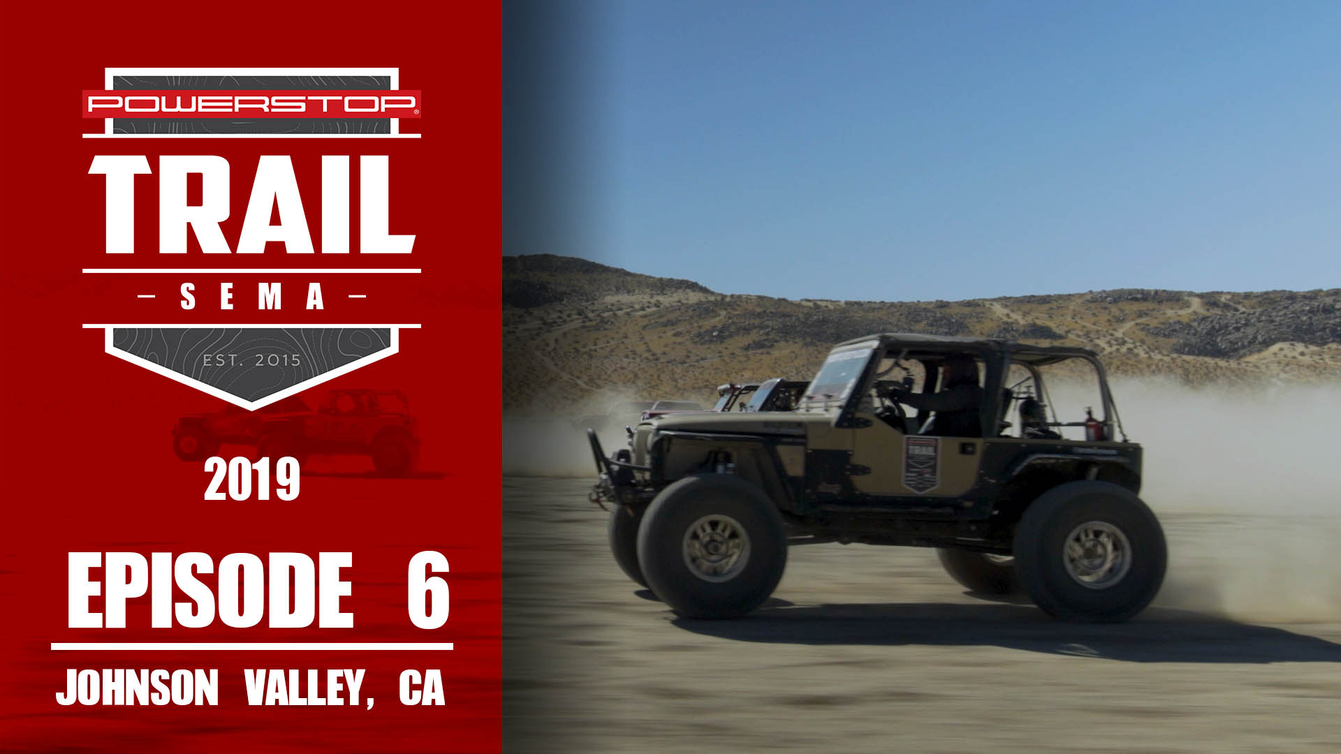 Trail To SEMA Episode 6 Backdoor & Desert Drag Race