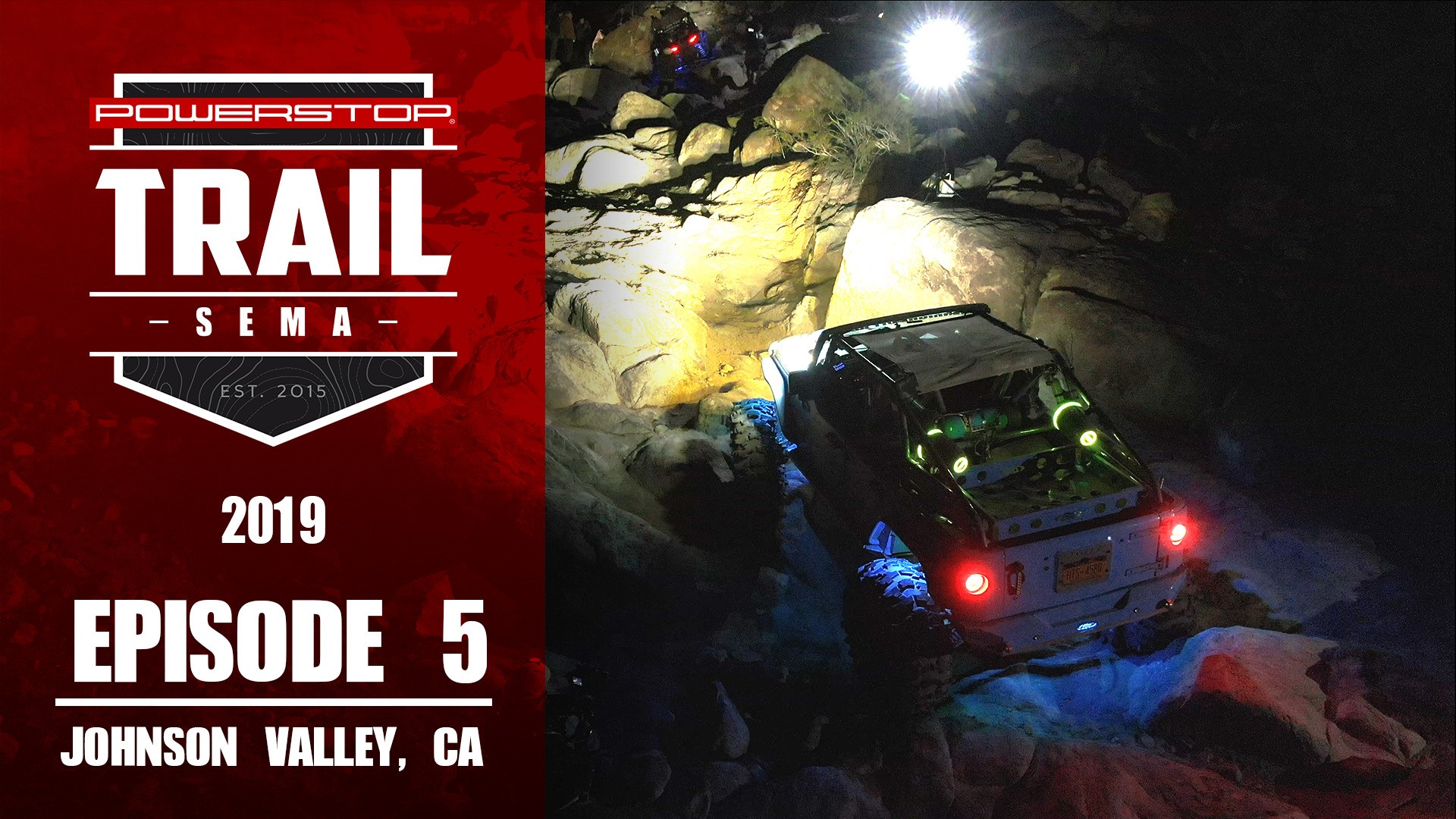 trail to sema episode 5 chocolate thunder night run