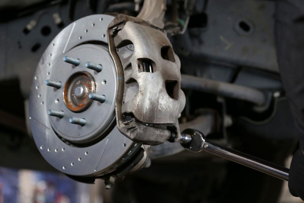 how to install a new caliper powerstop