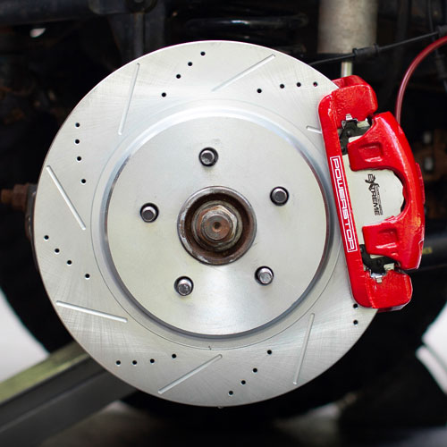 PowerStop Jeep JK JKU Big Brake Kit
