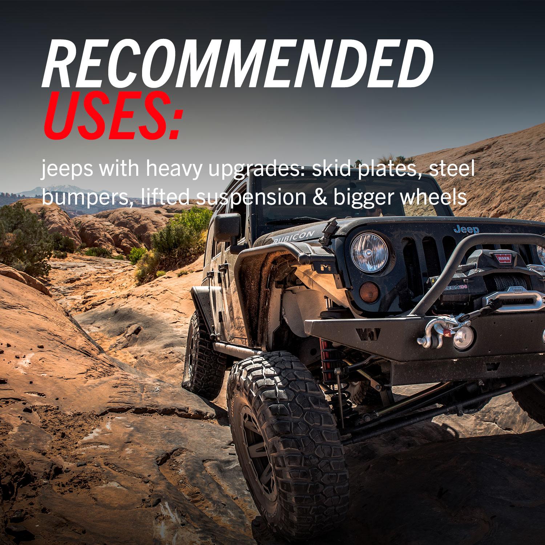 PowerStop Jeep JK JKU Big Brake Kit Recommended