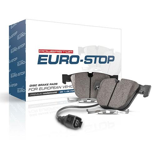 PowerStop Euro-Stop ECE-R90 Brake Pads for European Vehicles