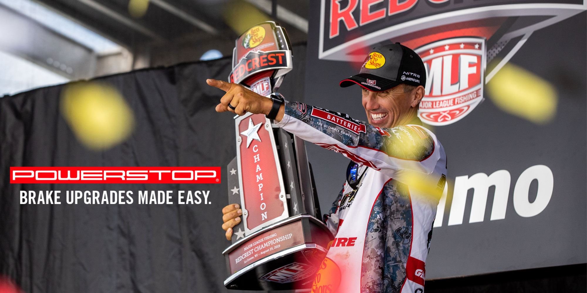 Edwin Evers MLF Professional Angler Partners with PowerStop Brakes