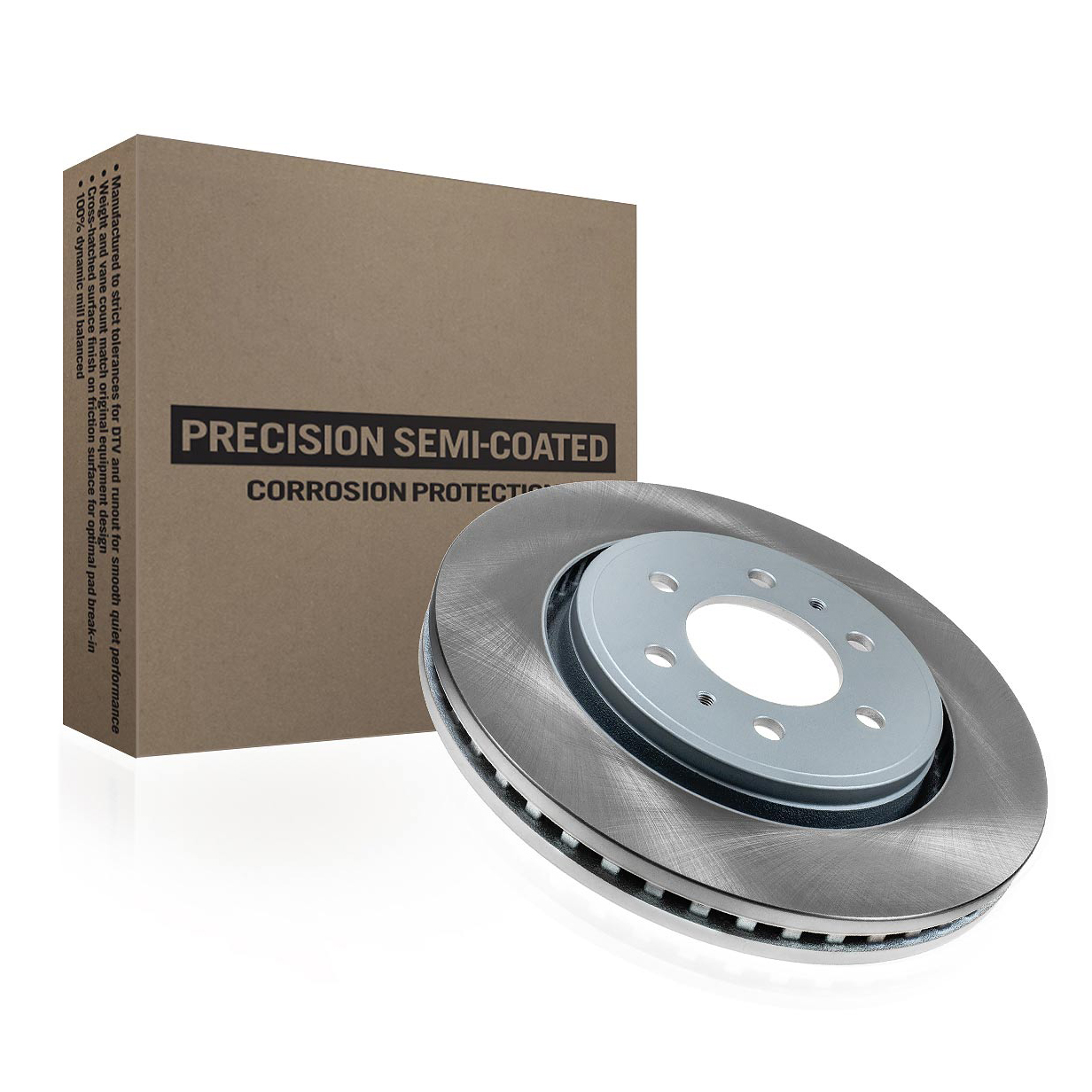 Precision Semi-Coated Rotor